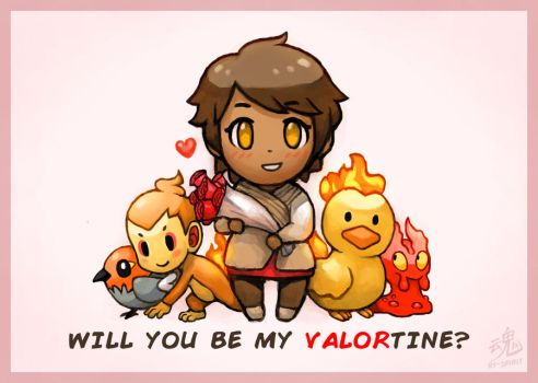 Will you be my VALORtine? by Ry-Spirit