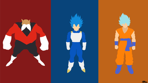Dragon Ball Super Vector Wallpaper by Darkartist09