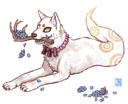 Ghost dogs are cute dogs by emlan