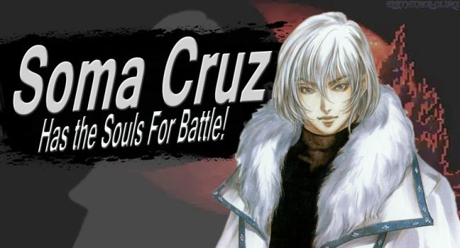 Soma Cruz SSB4 Request by Elemental-Aura