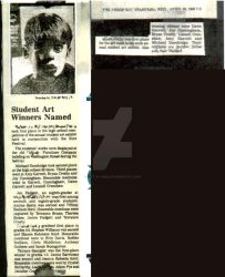 Newspaper Article by art-by-mike