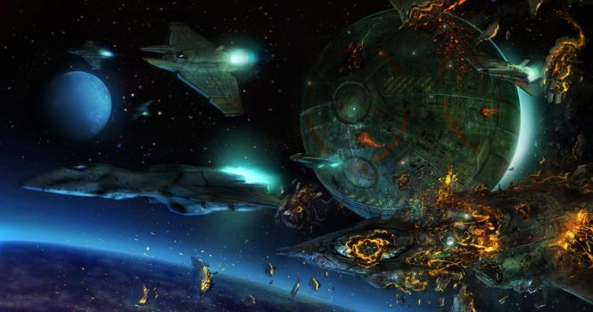 Dropship fighter screen by flyingdebris