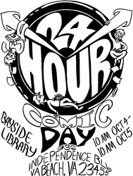 24 Hour Comic Day by masochisticcannibal