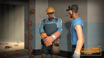 Scout and Engie by Fioponator