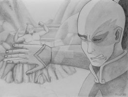 Drawing 10, Day 3: Zuko and Iroh by DemieLune