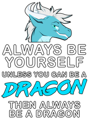 Kothorix always be a dragon by artwork-tee
