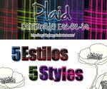 5 Plaid-Escoces Styles by MyShinyBoy