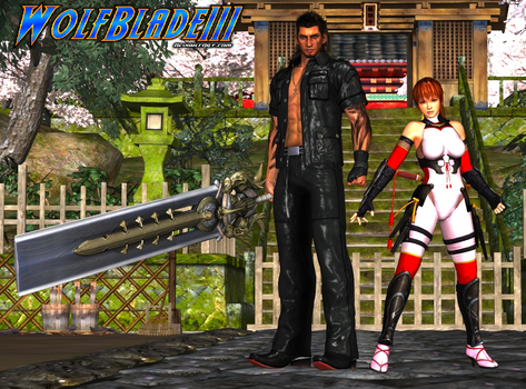 Gladiolus and Kasumi. by WOLFBLADE111