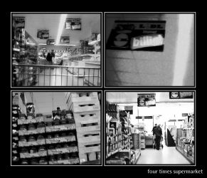 four times supermarket by HerrTwiggs