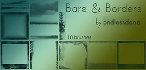 Bar Borders for icons by endlessdeep