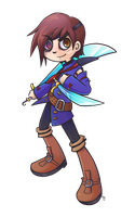 Vyse by Air-Pirate-Bunny