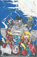 Avengers Assemble by PonyGoddess