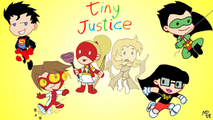 Tiny Justice - Wallpaper by UltimeciaFFB