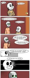 Undertale Green Chapter 3 Page 26 by FlamingReaperComic