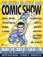 South Coast Toy and Comic Show 2013 Poster by IanNichols