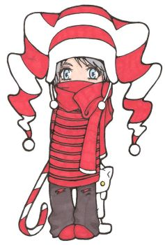 my christmas gaia avi by nushi-1616