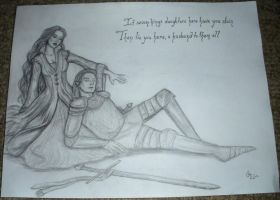 Lady Isabel and the Elf Knight by Sidhe-Etain