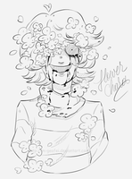 Flower Chara by M-Geofei