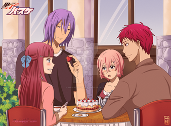 [KNB OC - COLLAB] Double Date by MariaChii-Tan
