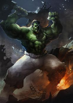 Hulk smash ! by Magnusss