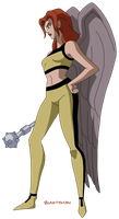 JLU: Hawkgirl by Glee-chan