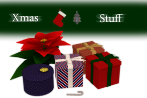 [MMD] Xmas Stuff - DL by JoanAgnes