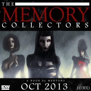 The Memory Collectors panel 12 by menton3