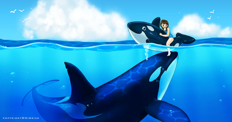 Molly and the Whale by Nimkish