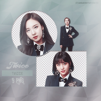 TWICE 9 PNG PACK #33 by liaksia by liaksia