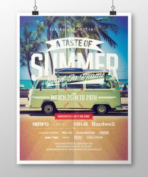 A Taste of Summer Flyer Template by EAMejia