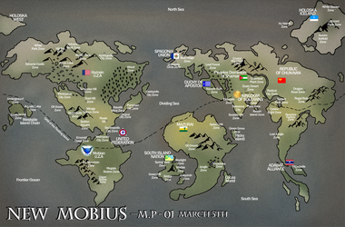 Map of New Mobius by Okida