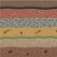 Geological Strata by Rosemoji