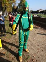 Kick-Ass - Lucca Comics 2013 by Groucho91
