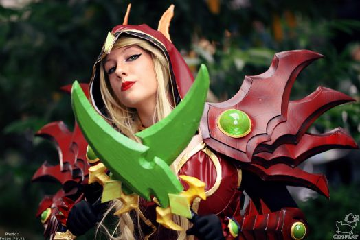 Valeera Sanguinar cosplay by isiabell