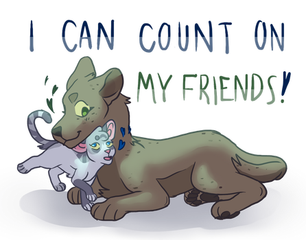 You can count on me! by Caove