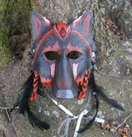 Shadowland Werewolf Mask by Draikairion
