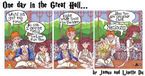 One day in the Great Hall by JamusDu