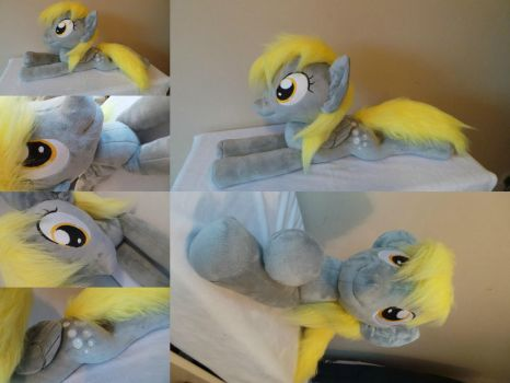 large huggable Derpy plushie by Pinkamoone