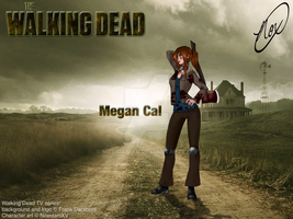 Walking Dead OC, Megan by NoxidamXV