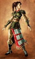 Chinese Warrior Concept by dannyhuynh99