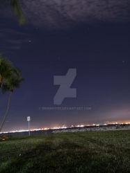 Stargazing at East Coast Park by Deming9120