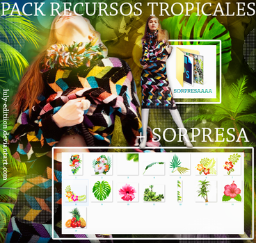 PACK RECURSOS TROPICALES by Luly-Editiion