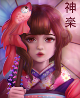 Kagura by minnhsg