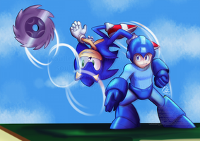 SSB4: Blue Team by witch-girl-pilar