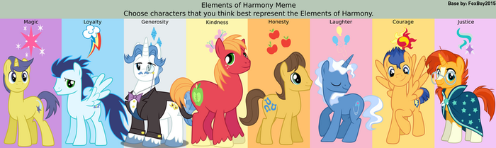 Stallion Elements of Harmony by 3D4D