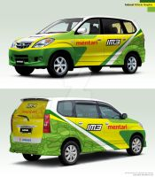 Indosat Vehicle Graphic by idhuy
