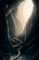 The Cave of Silence by ChristianGerth