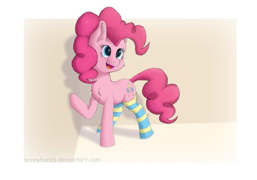 Pinkie Pie by BronyHands