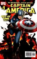 Captain America comic cover by Photopops