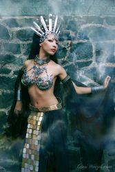 Queen of the Damned Cosplay by tanuki-chan